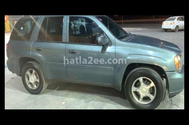 Trial Blazer Chevrolet Blue