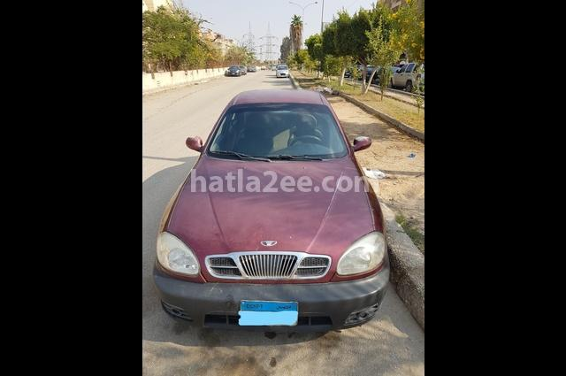 Lanos Daewoo Dark red