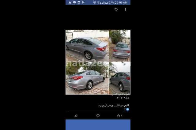 Sonata Hyundai Cyan
