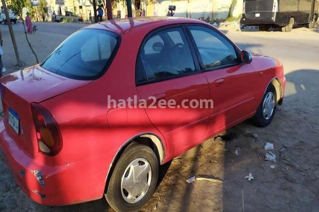 Lanos 2 Daewoo احمر