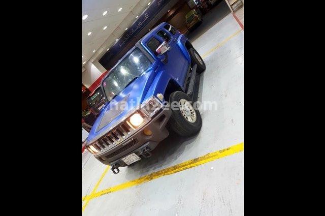 H 3 Hummer أزرق