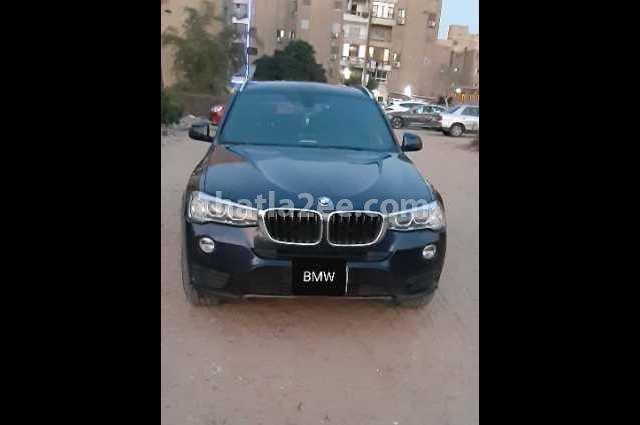 X3 BMW أزرق