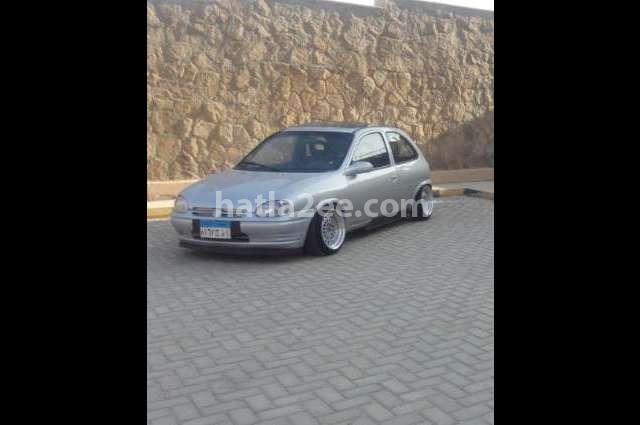 Corsa Opel Silver