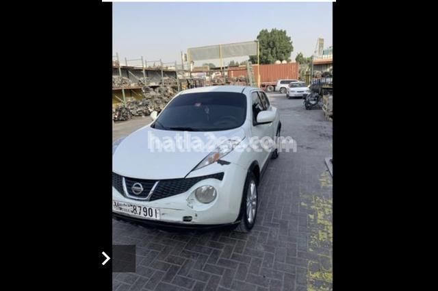 Juke Nissan أبيض