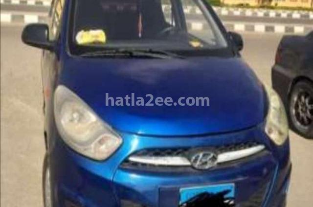 I10 Hyundai Blue