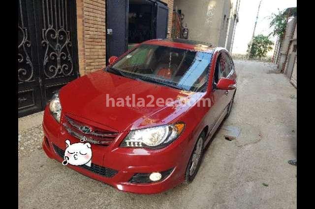 Elantra HD Hyundai احمر