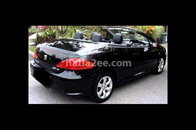 307 Peugeot أسود