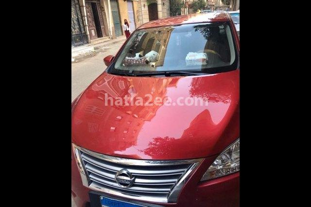 Sentra Nissan Red