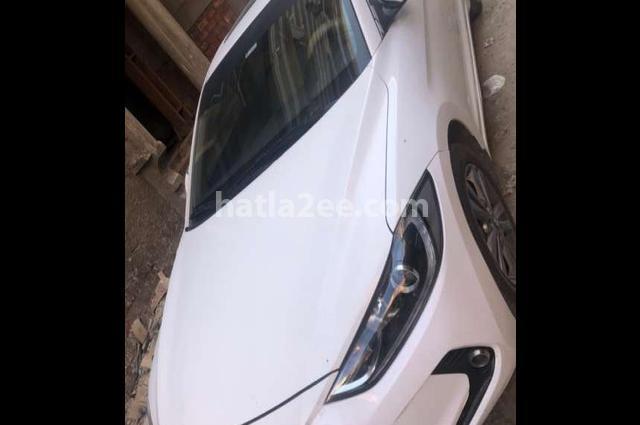 Elantra MD Hyundai White