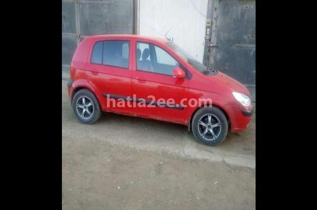 Getz Hyundai احمر