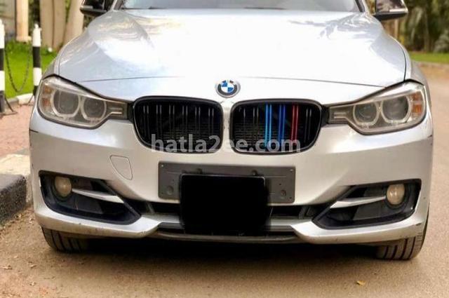 320 BMW فضي