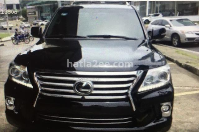 LX 570 Lexus أسود