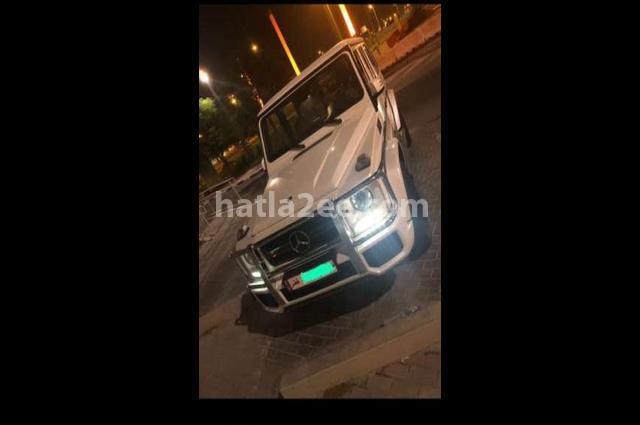 G Class Mercedes أبيض