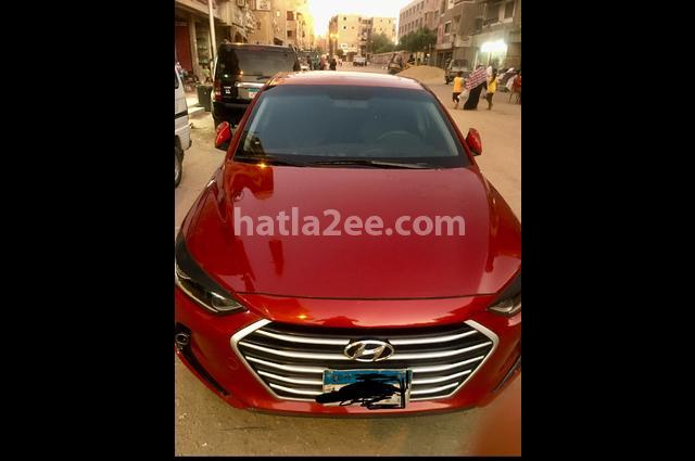 Elantra AD Hyundai احمر