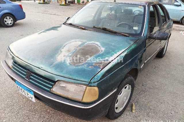 405 Peugeot Green