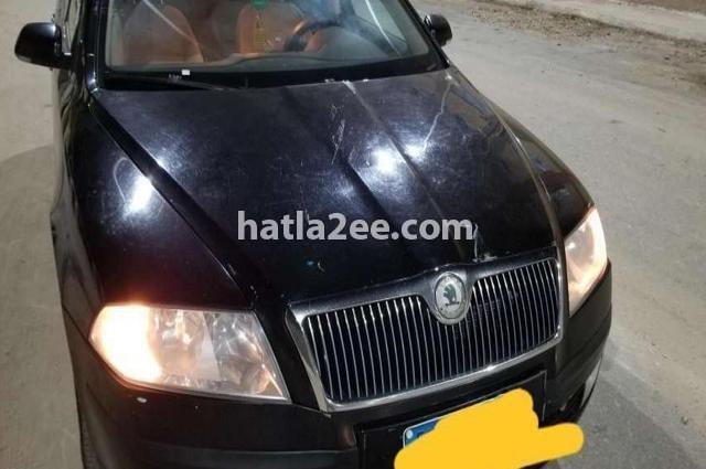 Octavia A5 Skoda أسود