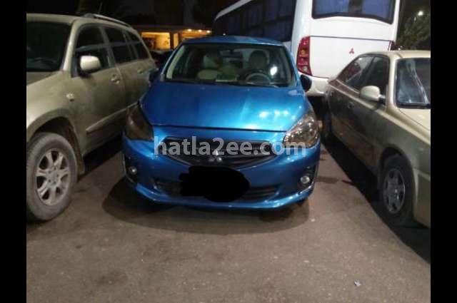 Attrage Mitsubishi Dark blue