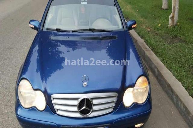C 180 Mercedes أزرق