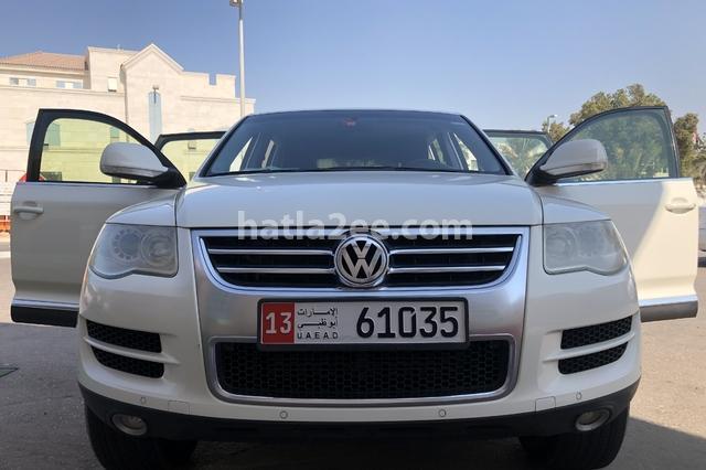 Touareg Volkswagen White