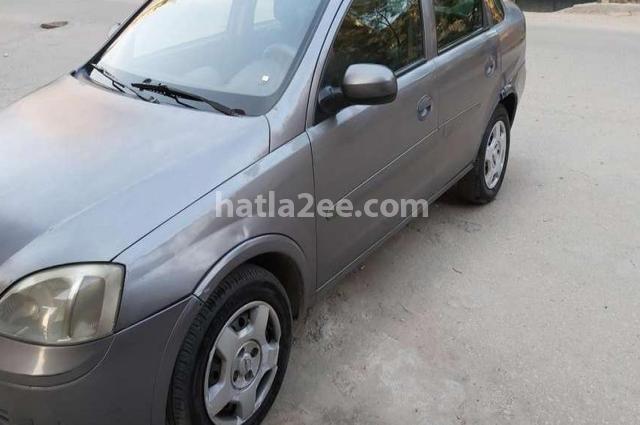 Corsa Opel Gray