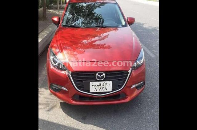 Mazda 3 Mazda Red