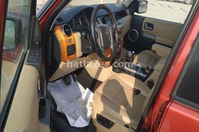 lr3 Land Rover احمر