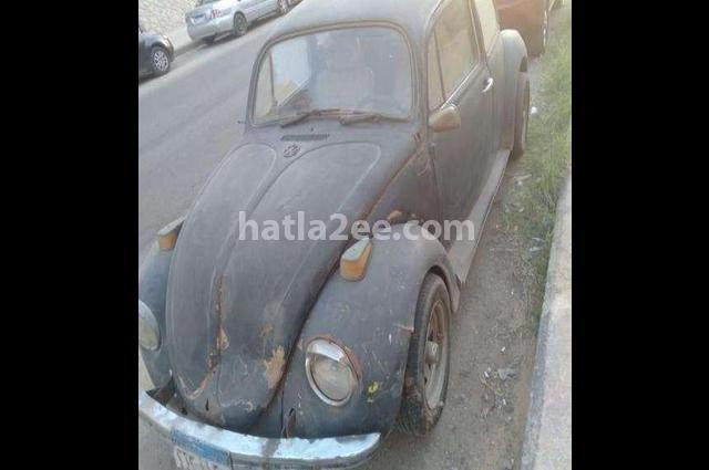Beetle Volkswagen أسود
