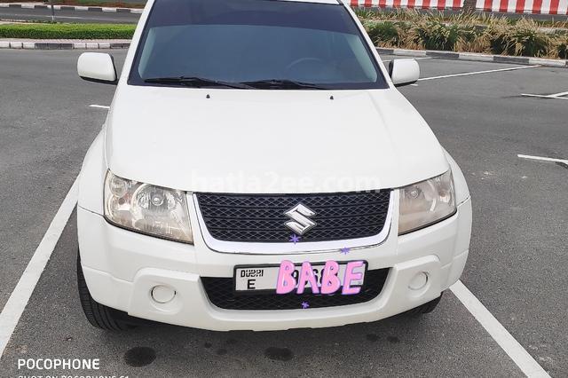 Vitara Suzuki White