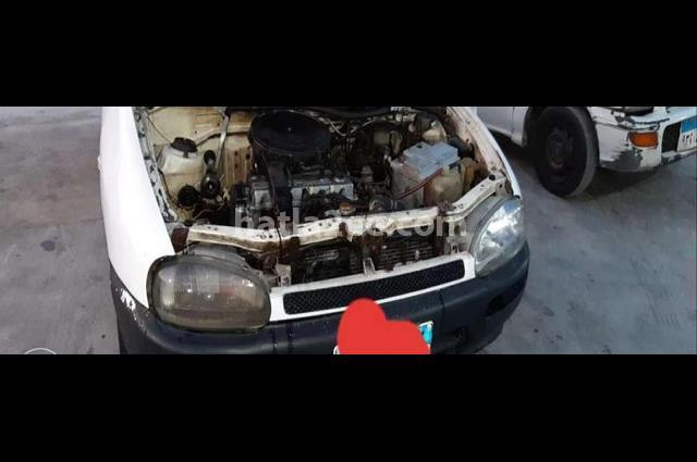 121 Mazda White