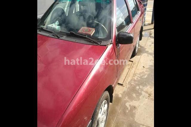 Excel Hyundai احمر غامق