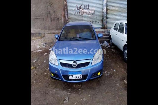 Vectra Opel الأزرق الداكن