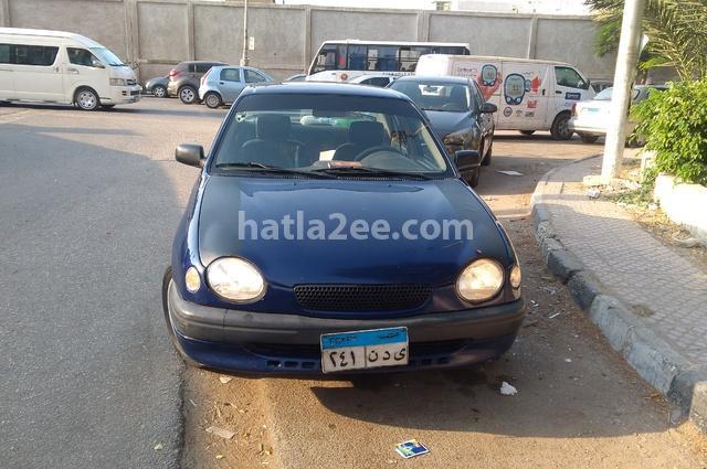 Corolla Toyota Dark blue
