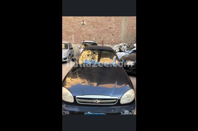 Lanos Chevrolet الأزرق الداكن