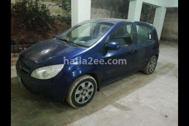 Getz Hyundai الأزرق الداكن