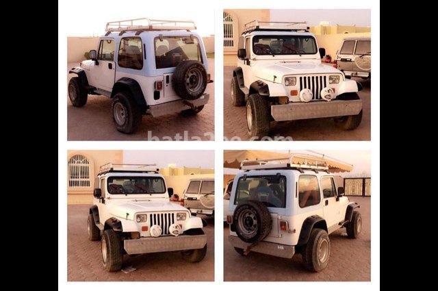 Wrangler Jeep White