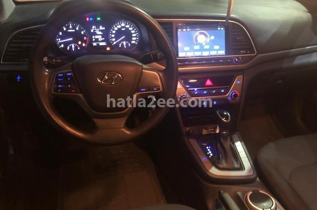 Elantra Hyundai رمادي