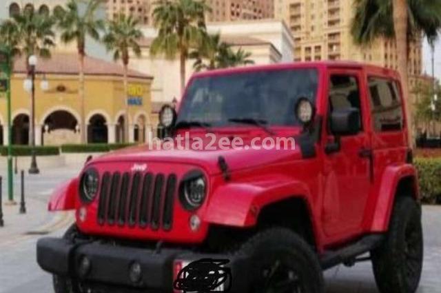 Wrangler Jeep احمر