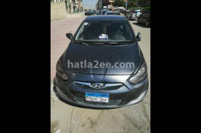 Accent RB Hyundai رمادي