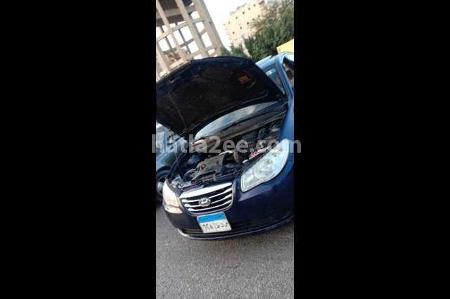 Elantra HD Hyundai أزرق