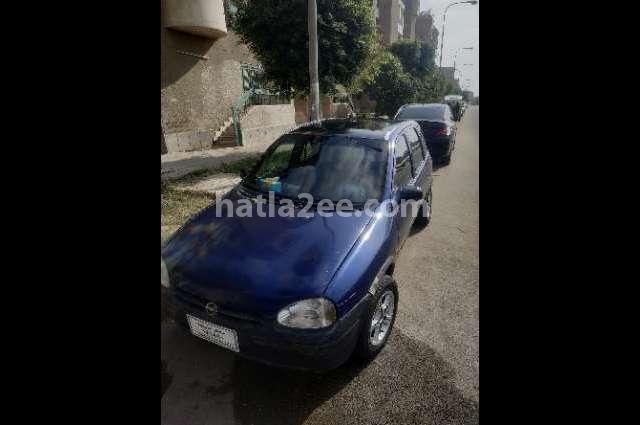 Corsa Opel الأزرق الداكن