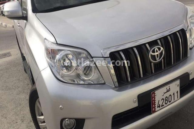 Prado Toyota فضي