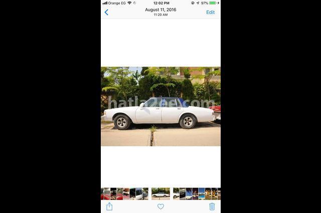 Caprice Chevrolet أبيض