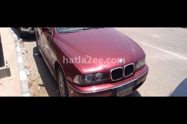 523 BMW احمر غامق