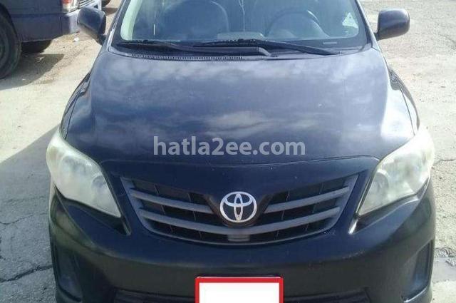 Corolla Toyota Black