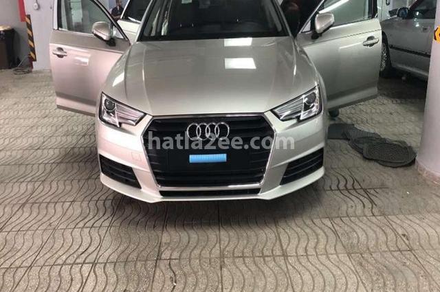 A4 Audi فضي