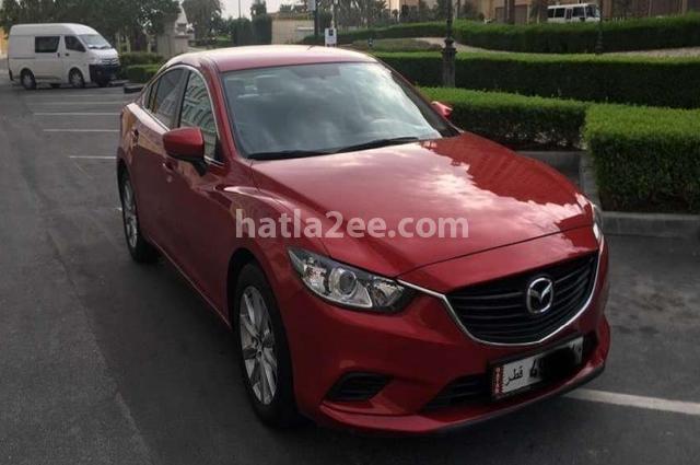Mazda 6 Mazda Red