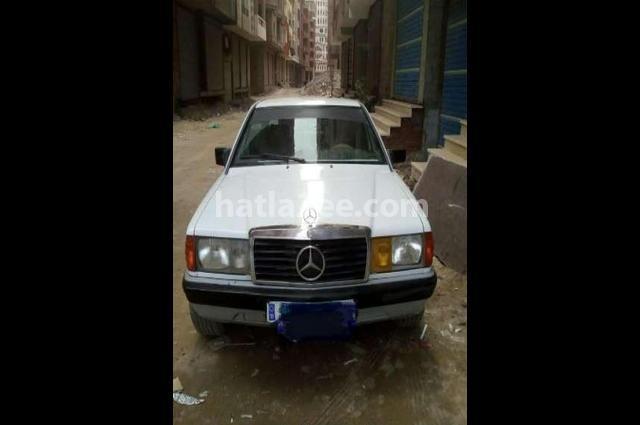 190 Mercedes White
