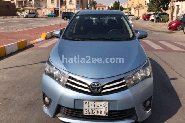 Corolla Toyota Cyan