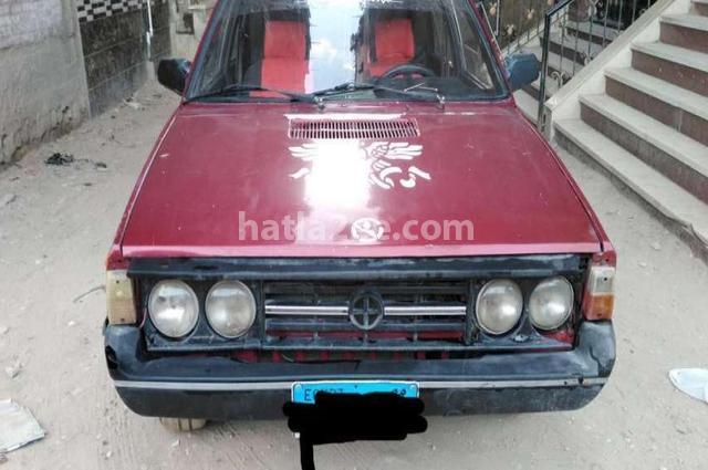 Polonez Fiat Dark red
