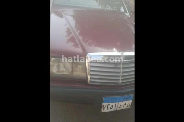 190 Mercedes Dark red
